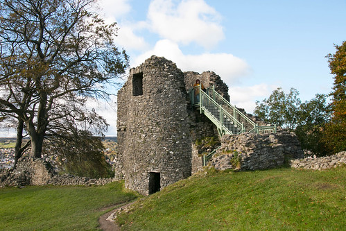 Kendal Castle interior - North West Tower  2