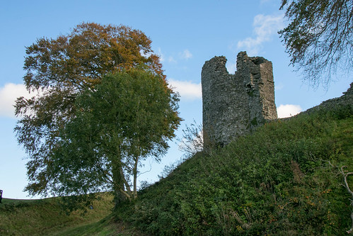 Kendal Castle exterior - North West Tower  3