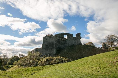 Kendal Castle exterior  1