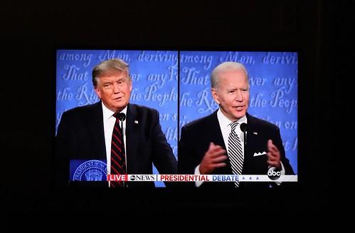Trump and Biden, From FlickrPhotos