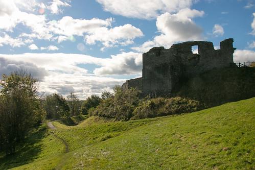Kendal Castle exterior  2