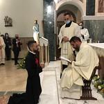 Provincia Romana: professione temporanea di Lorenzo Lettere