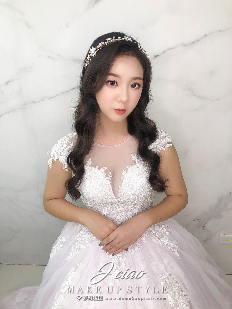 【新秘婕喬】新娘造型創作 / 甜美放髮