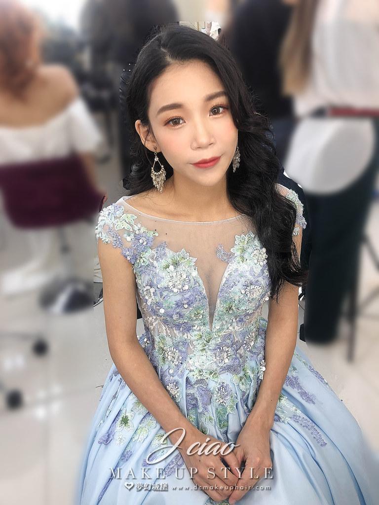 【新秘婕喬】新娘造型創作 / 女神放髮造型