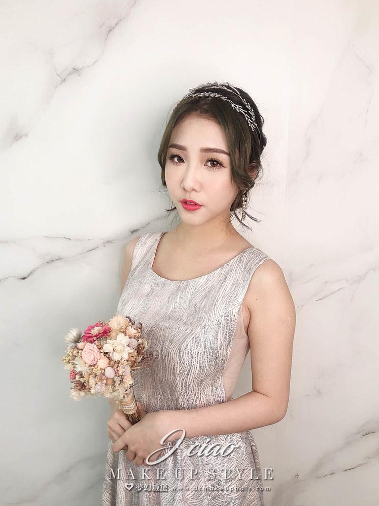 【新秘婕喬】新娘造型創作 / 柔美優雅造型