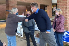 """Election Day Visit to Fairfax Polling Location 2020 • <a style=""""font-size:0.8em;"""" href=""""http://www.flickr.com/photos/117301827@N08/50564688507/"""" target=""""_blank"""">View on Flickr</a>"""
