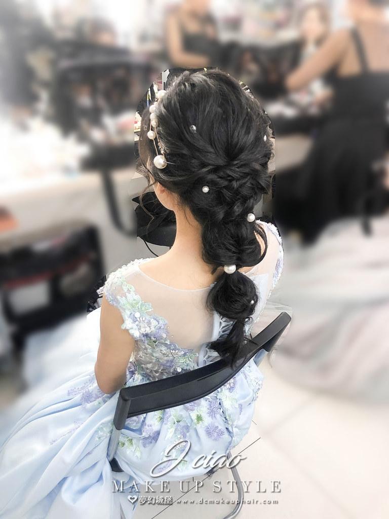 【新秘婕喬】新娘造型創作 / 氣質珍珠編髮