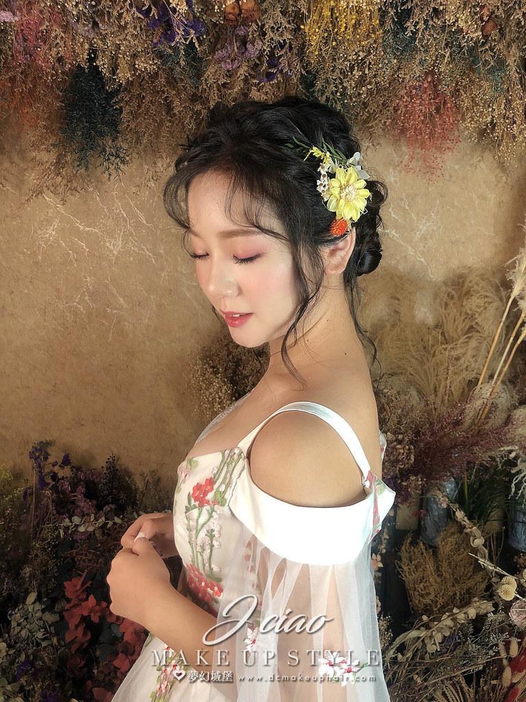 【新秘婕喬】新娘造型創作 / 仙氣夢幻盤髮