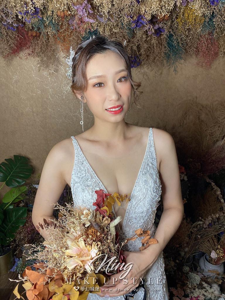 【新秘羽寧】新娘造型創作 / 夢幻盤髮