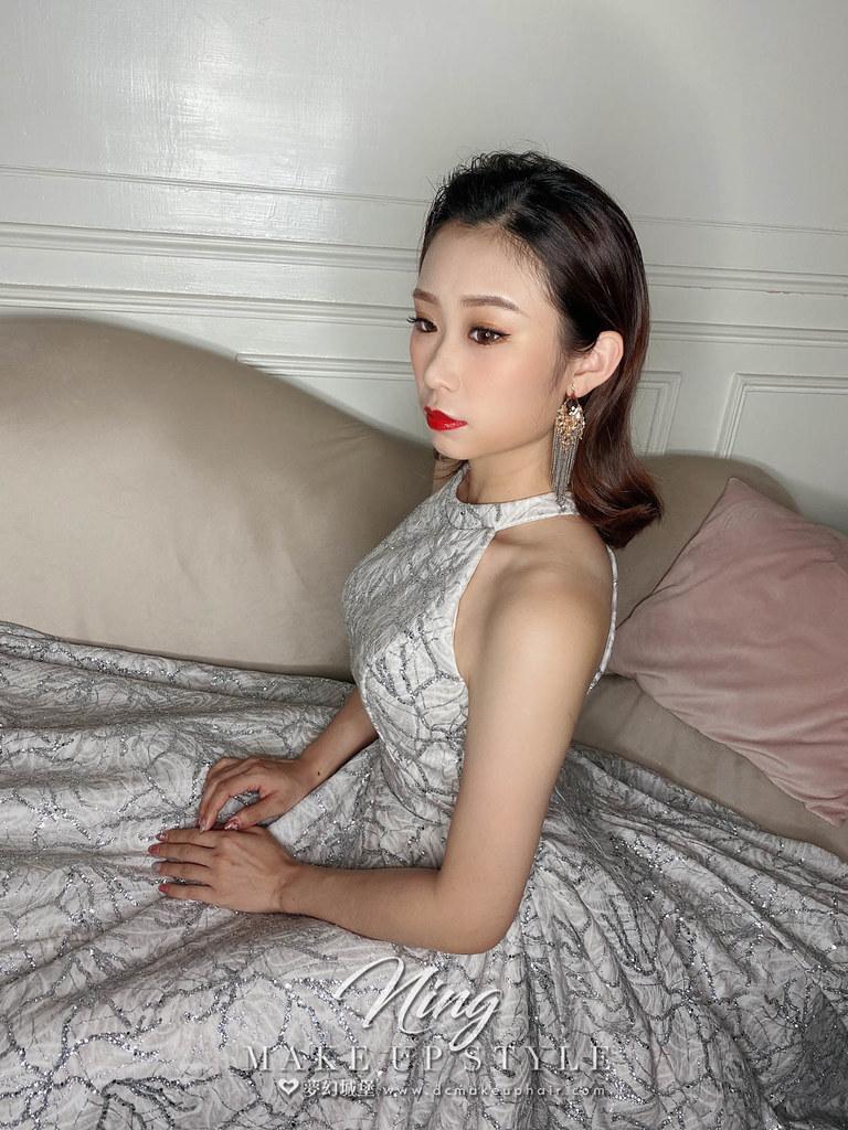 【新秘羽寧】新娘造型創作 / 個性油頭