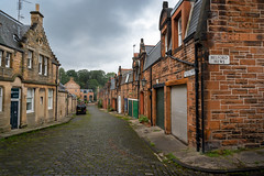 Dean Village in Edinbugh, Scotland