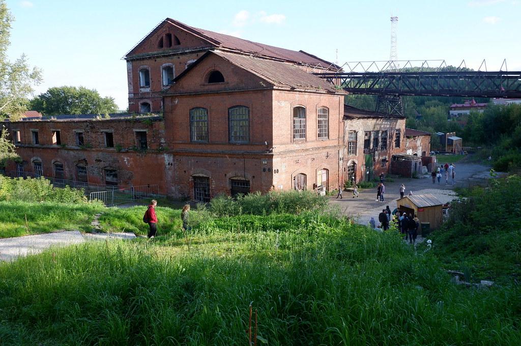 фото: Чугунолитейный завод в Сысерти