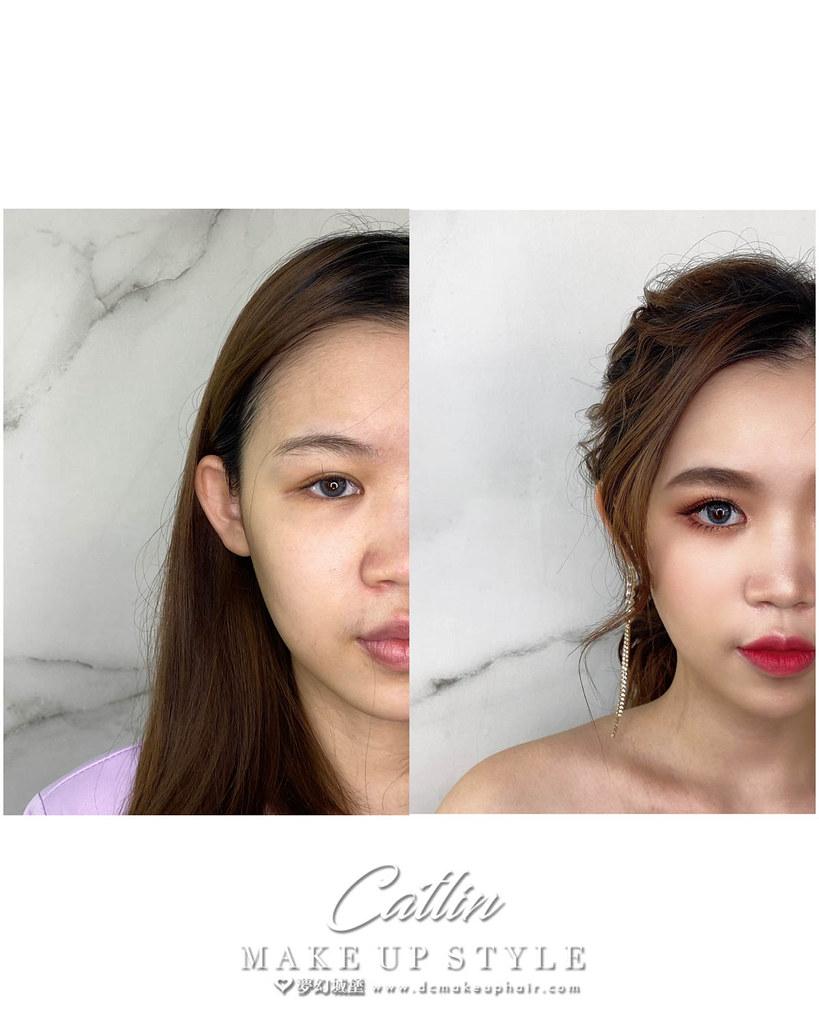 【新秘Catlin】新娘造型創作 / 韓系珍珠低馬尾