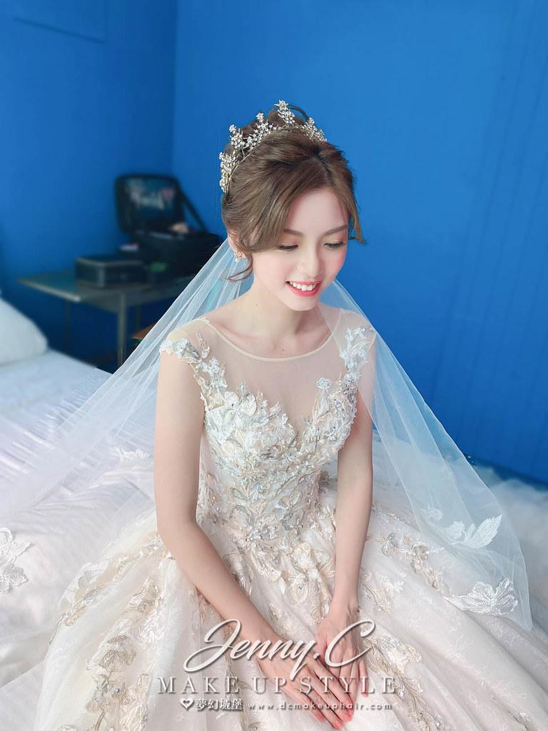 【新秘蓁妮】bride 悟能 證婚造型 / 韓系優雅