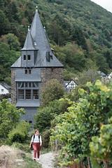 Bacharach: Blick aufs Steeger Tor