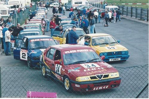 Mark Ticehurst, Mark James & Keith Fawdington - allory 1995