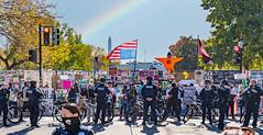 2020.11.06 Outside the White House, Washington, DC USA 311 46033-Edit