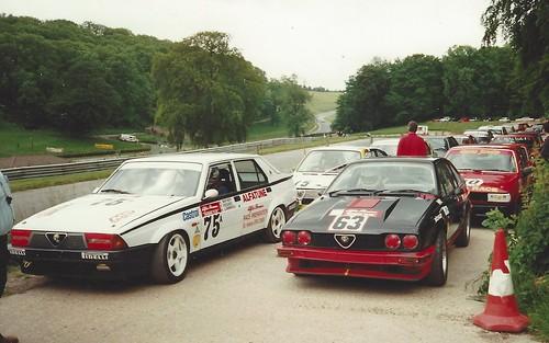 Kim Mather and Nigel Bathurst (63) Cadwell 1993