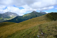 Pointe de Chaurionde @ Trail to Le Grand Roc