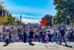 2020.11.06 Outside the White House, Washington, DC USA 311 46014