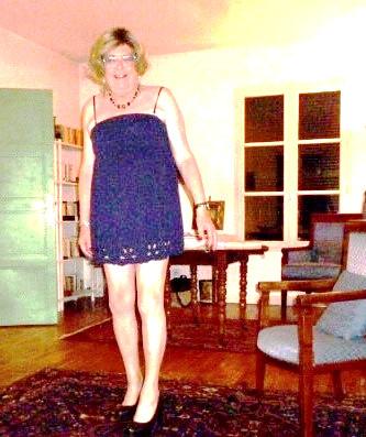 Very short dress I wore in Miami Beach