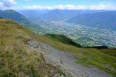 Chalets d'Orisan @ Trail to Le Grand Roc