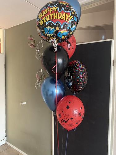 Ballonboeket Verjaardag Spiderman