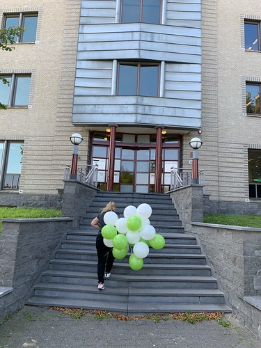 Heliumballonnen Samen in de Zorg Rotterdam