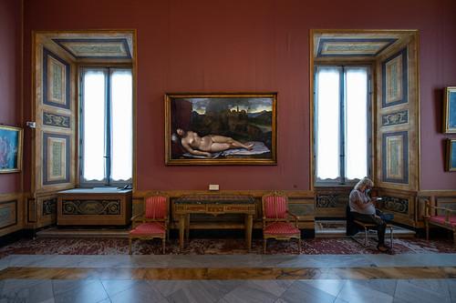Vénus endormie, Girolamo da Treviso, Galerie Borghese, Rome, 2020