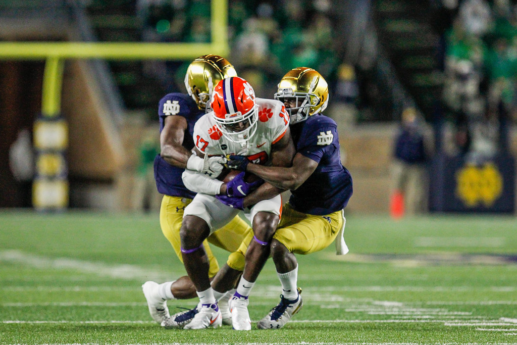 Clemson Photos: Cornell  Powell, 2020, Football, notredame