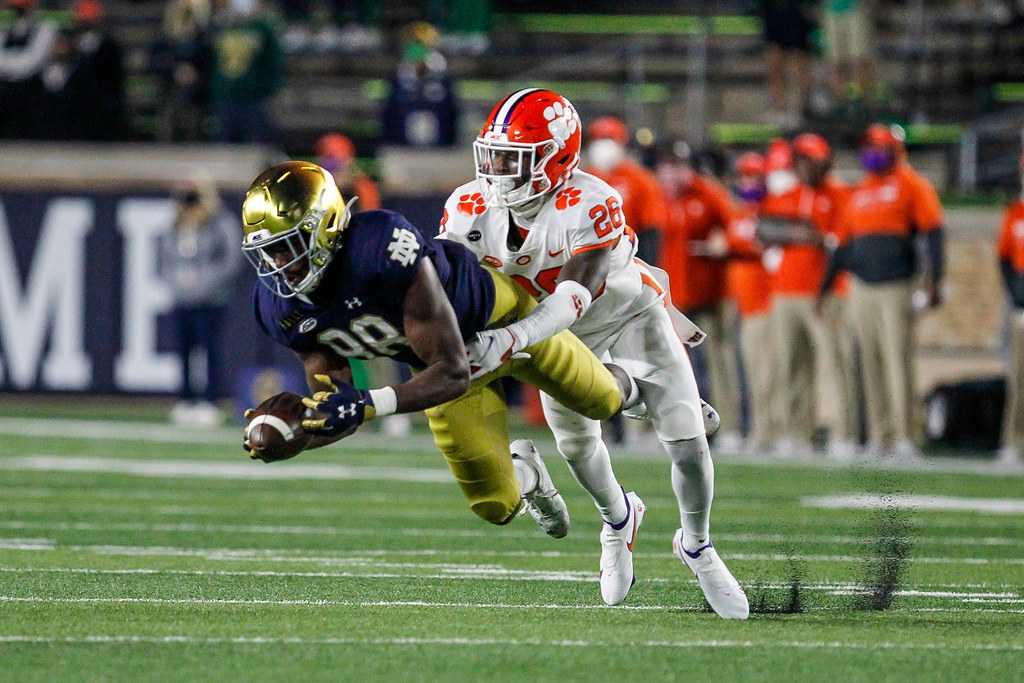 Clemson Photos: Sheridan  Jones, 2020, Football, notredame