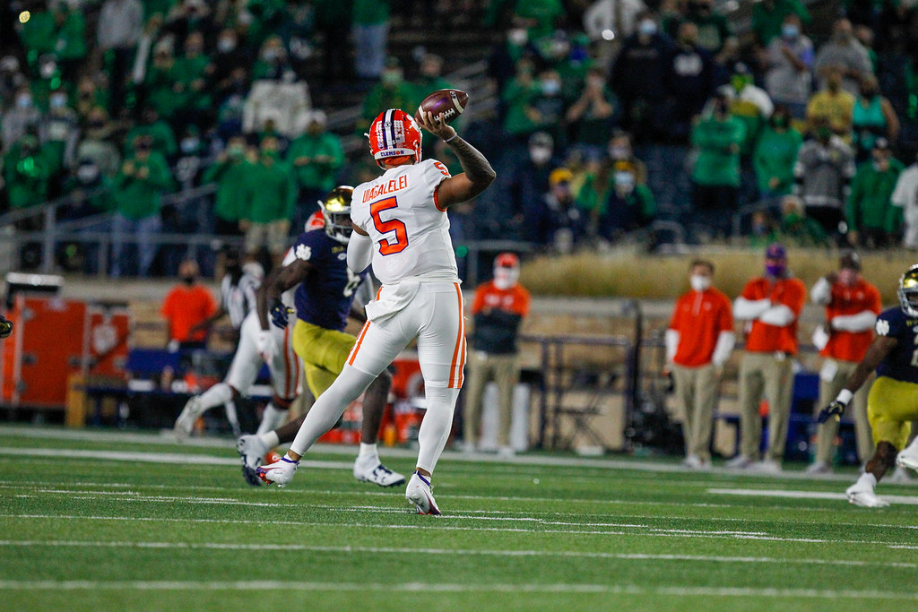 Clemson Photos: D J  Uiagalelei, 2020, Football, notredame