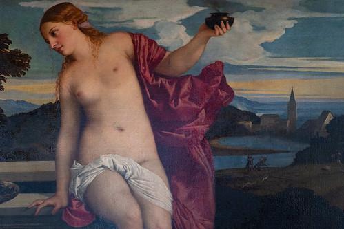 L'Amour sacré et l'Amour profane, Titien, Galerie Borghese, Rome, 2020