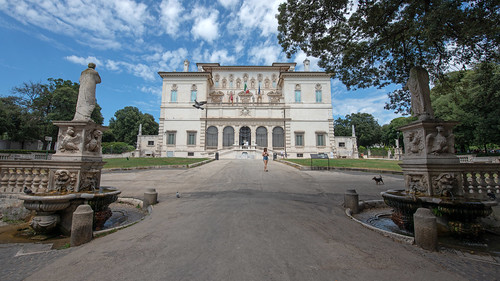 Galerie Borghese, Rome, 2020