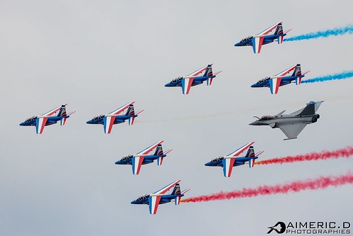 Patrouille de France & Rafale Solo Display