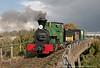 SKLR Kerr Stuart 'Melior- on Sittingbourne Viaduct on 13th October 2012