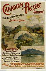 Canadian Pacific Railway and Royal Mail Steamship Line to Japan & China / Le Chemin de fer Canadien Pacifique et la Royal Mail Steamship Line à destination du Japon et de la Chine