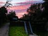 lock sunset