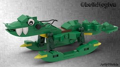 Croc'ing Horse