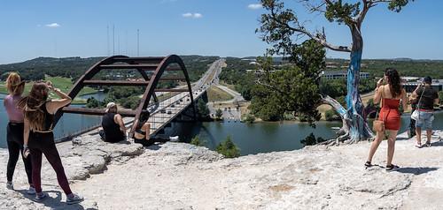 Pennybacker Bridge Overlook Panoramic
