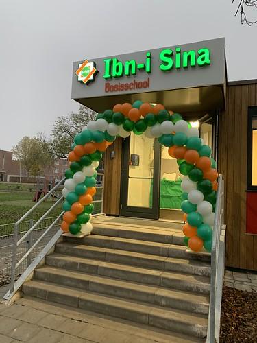 Ballonboog 6m Basisschool  Ibn-i-Sina Rotterdam