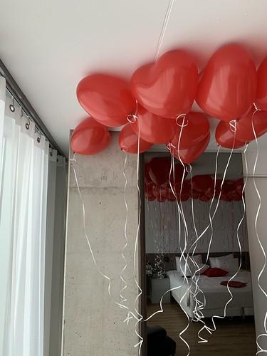 Heliumballonnen Hartballonnen NHOW Hotel Rotterdam
