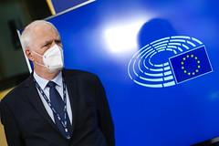Konferencja prasowa Parlamentu Europejskiego nt. poroumienia ws. WRF 2021-2027