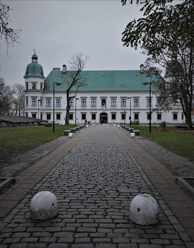 Ujazdowskie in winter