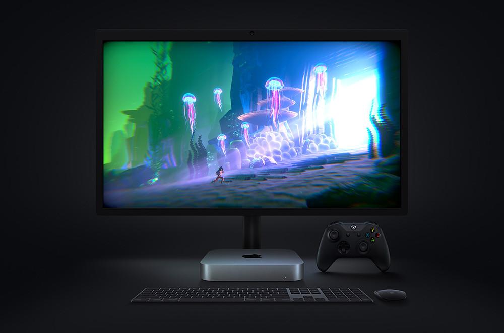 Apple_m1-chip-mac-mini-lg-display-gaming-screen_11102020