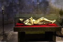 Crist Jacent Basílica de Sant Feliu - Girona