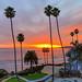 SeaCrest OceanFront Hotel Sunset Over Ocean - Pismo Beach - California