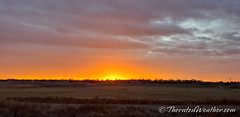 November 7, 2020 - Sunrise by the South Platte River. (ThorntonWeather.com)