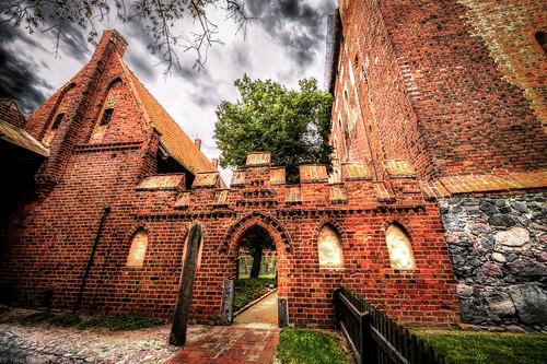 Malbork Castle:  the Blessed Virgin Mary Church in the upper castle, Malbork, Poland.  222-Edita