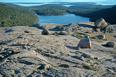 Summit of South Bubble & Jordan Pond (Mt. Desert Island, Maine, USA) 3